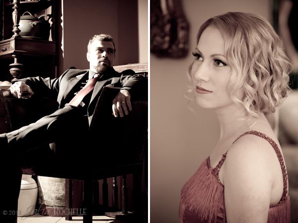 Great Gatsby themed photo shoot