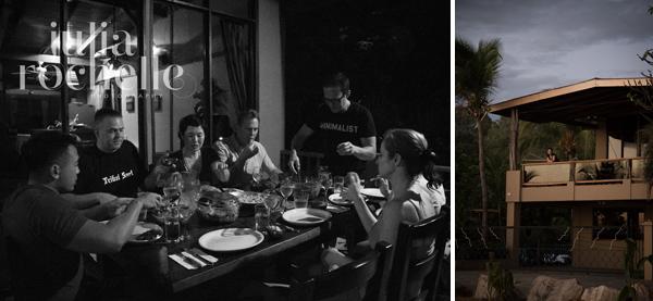 dinner evening Costa Rica