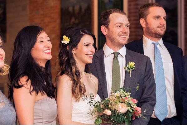 bride groom wedding party