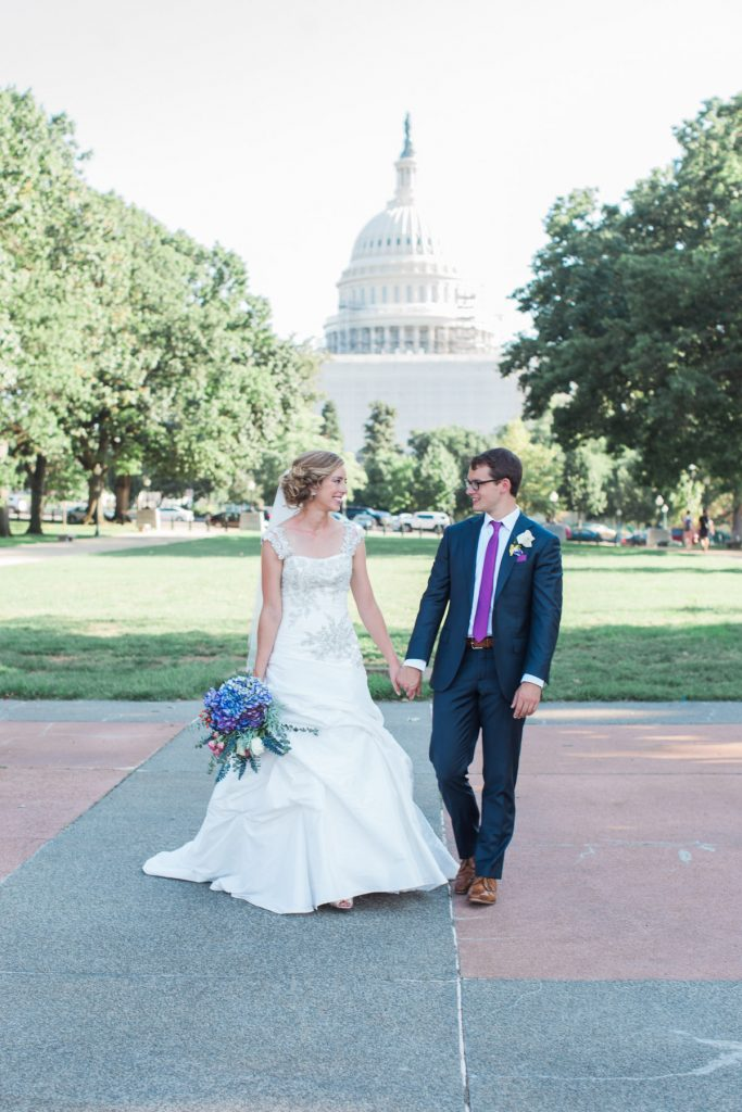 upper senate park bride & groom