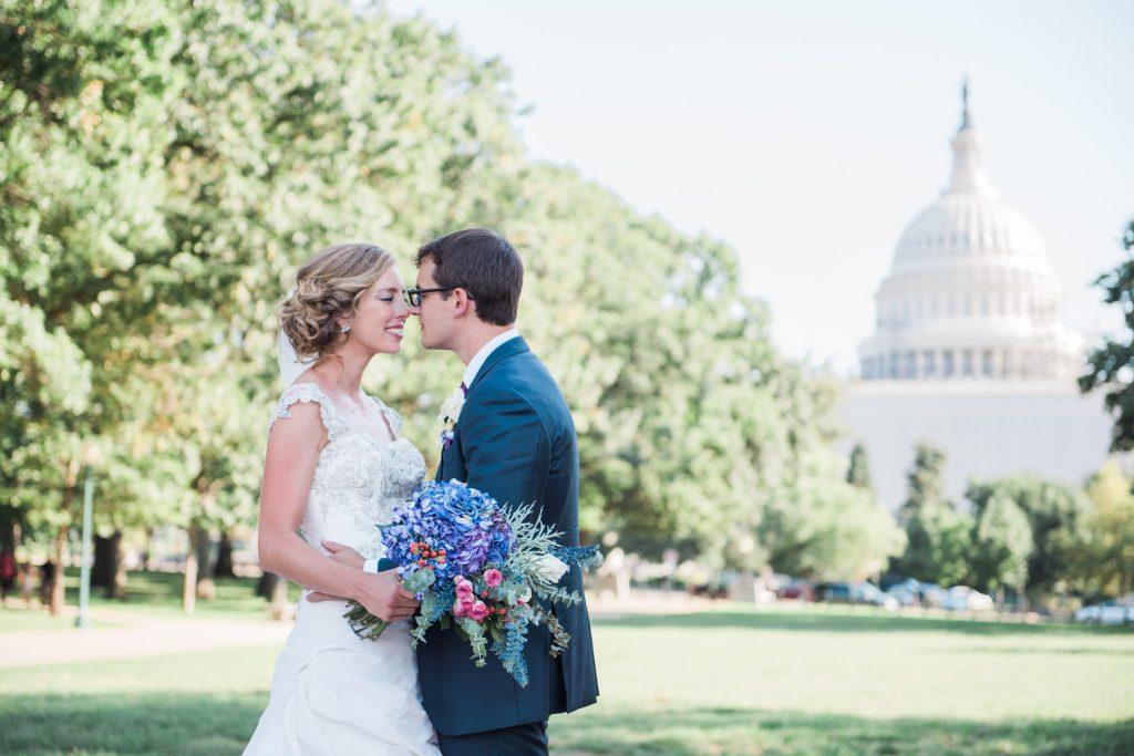 kisses at the capitol