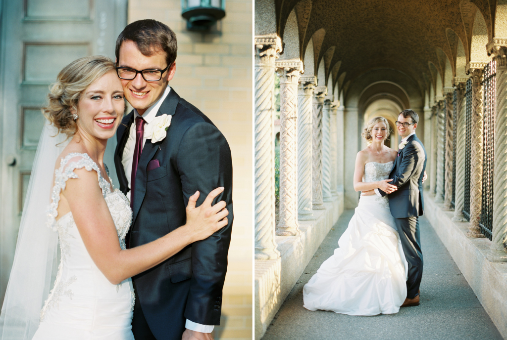 bride & groom franciscan monastery