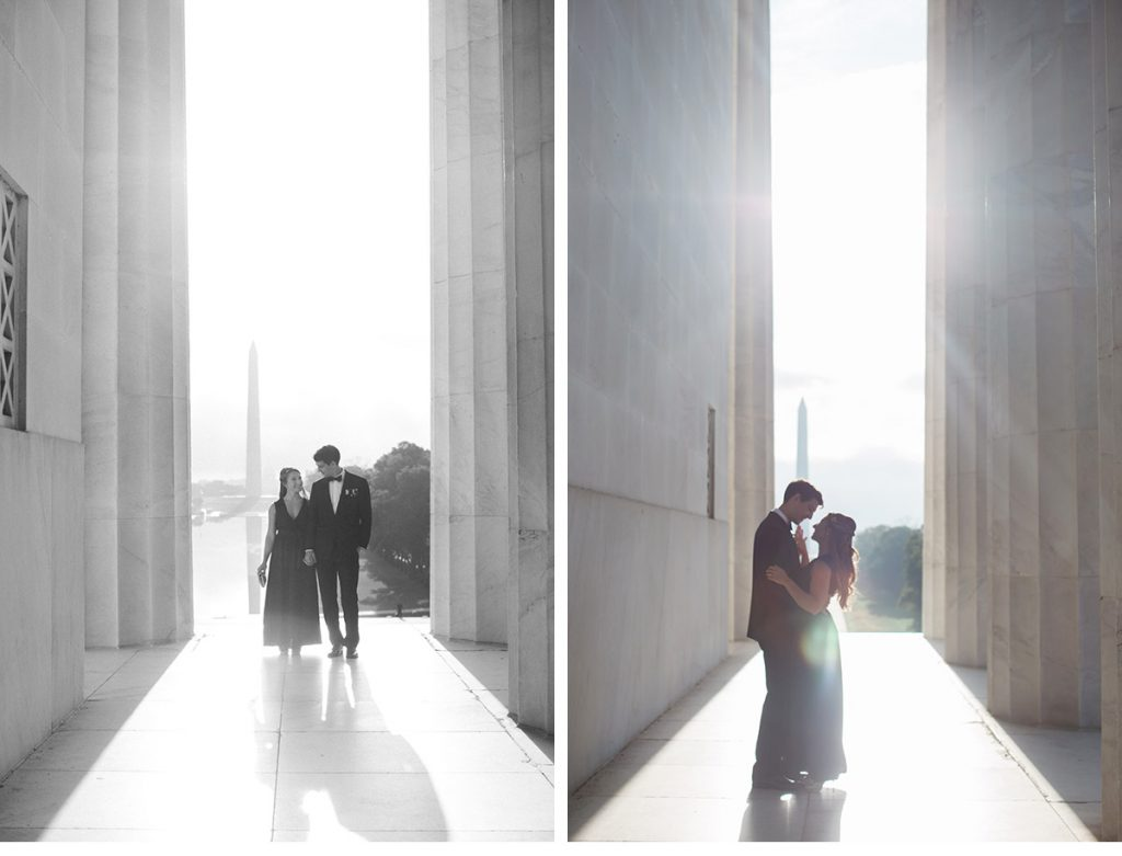 Lincoln Memorial Washington Monument